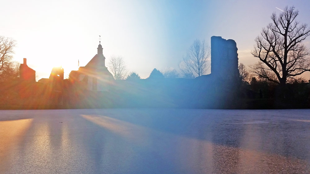 Burgweiher Dreieich © Friederike Mühleck