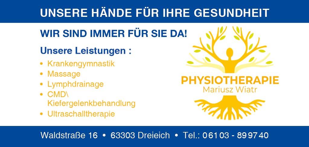 Physiotherapie-Wiatr-Dreieich