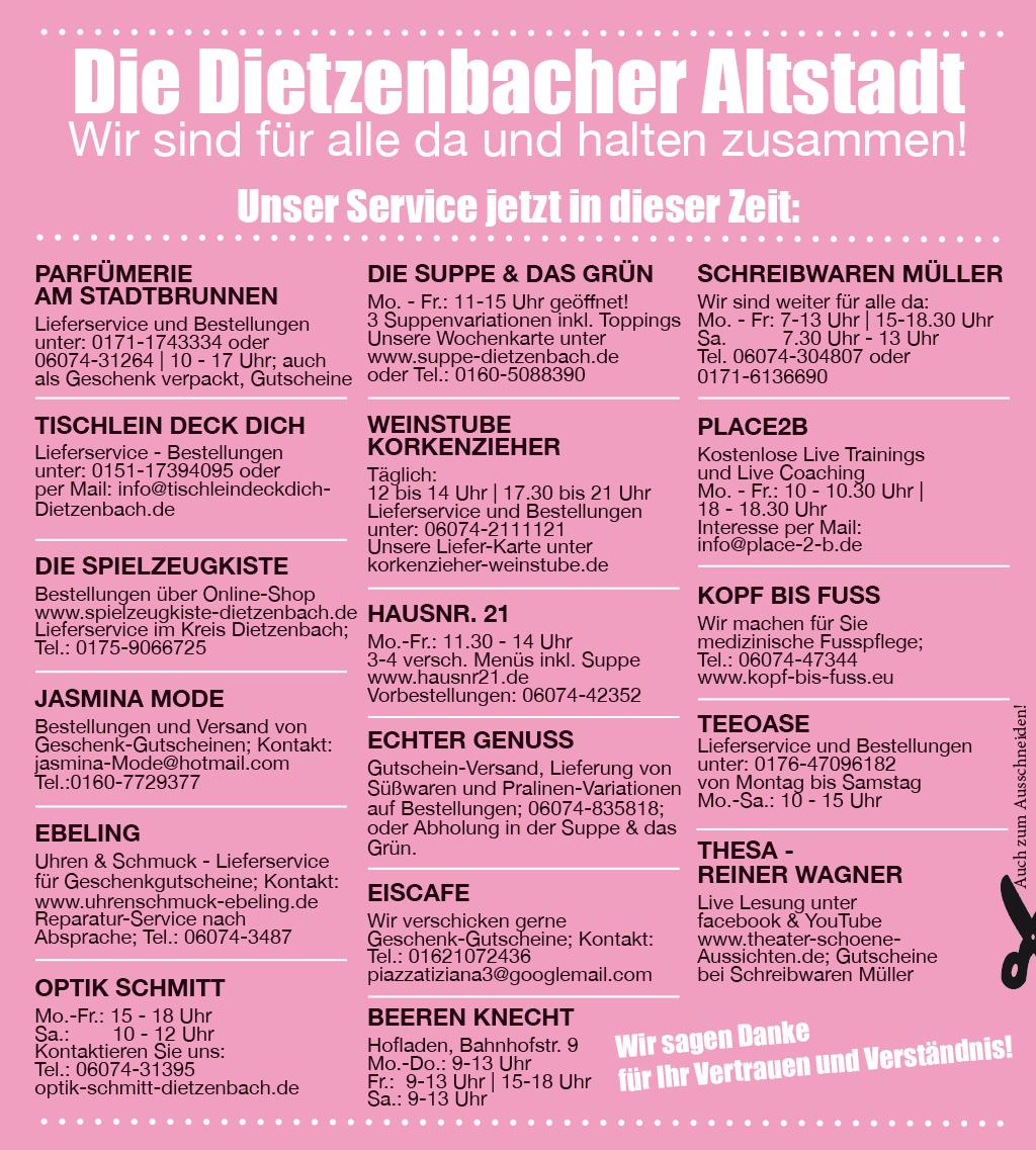 Altstadt Dietzenbach Service