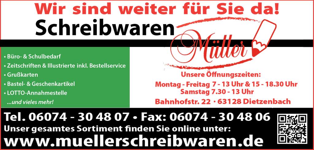 Schreibwaren Müller Dietzenbach