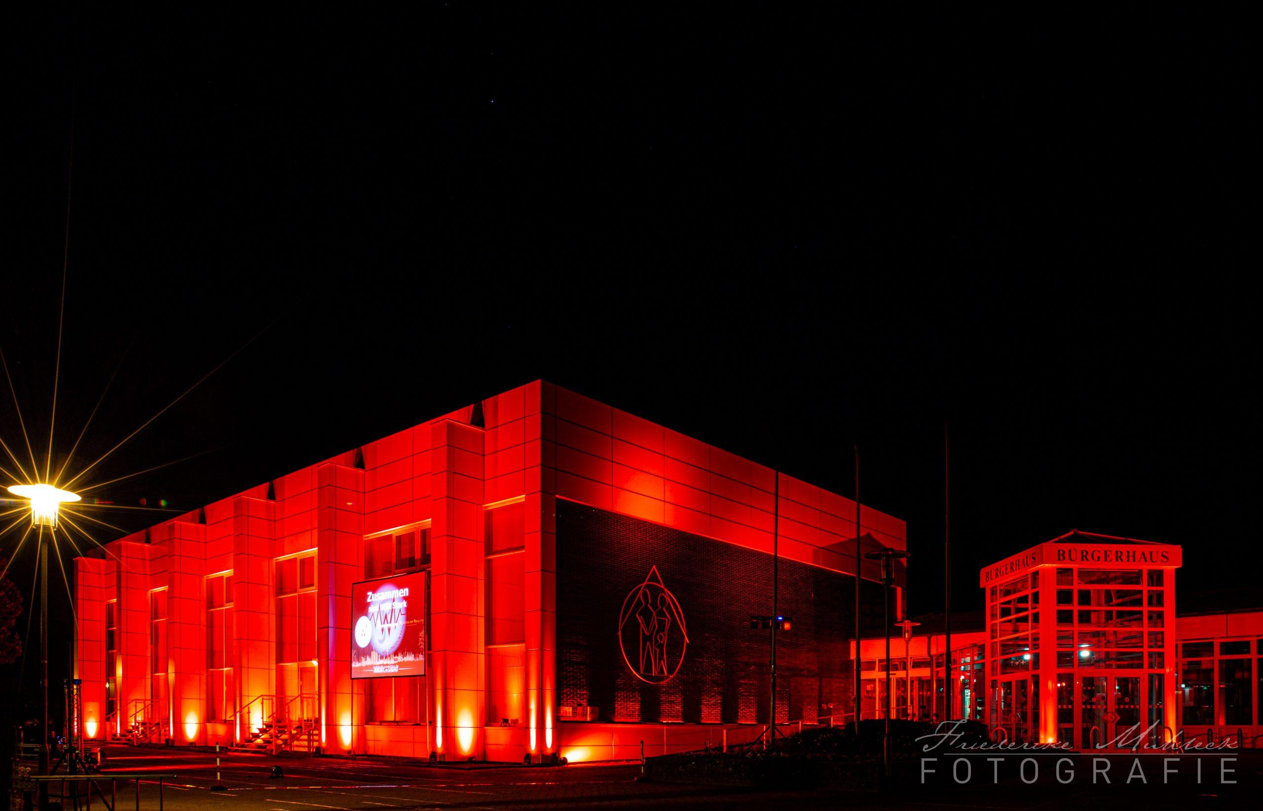 obertshausen buergerhaus nightoflights © friederike muehleck